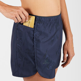 Salomon Agile Shorts Damer, blå